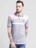 COBB Pink Polo Collar T-Shirt
