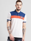 cobb orange polo collar t-shirt