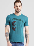COBB Green Round Neck T-Shirt