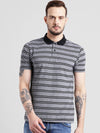 cobb grey polo collar t-shirt