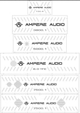 Load image into Gallery viewer, Ampere Audio Amplifier Backplates   (ATTENTION: please read below)