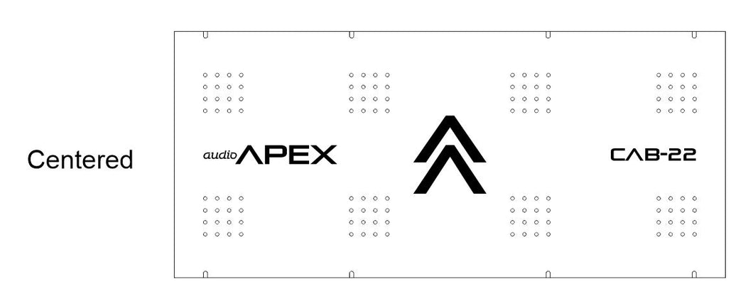 Audio Apex Backplates