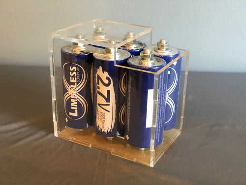 Limitless Super Capacitor DIY case