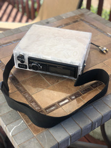 FROSTED Clear  Radio Box \  Head unit case