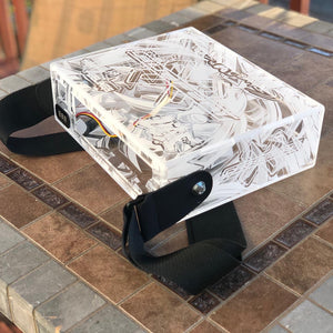 Clear  Radio Box \  Head unit case