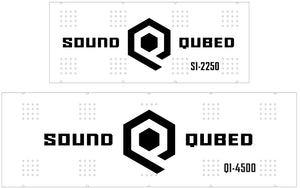 SoundQubed Amplifier Backplates