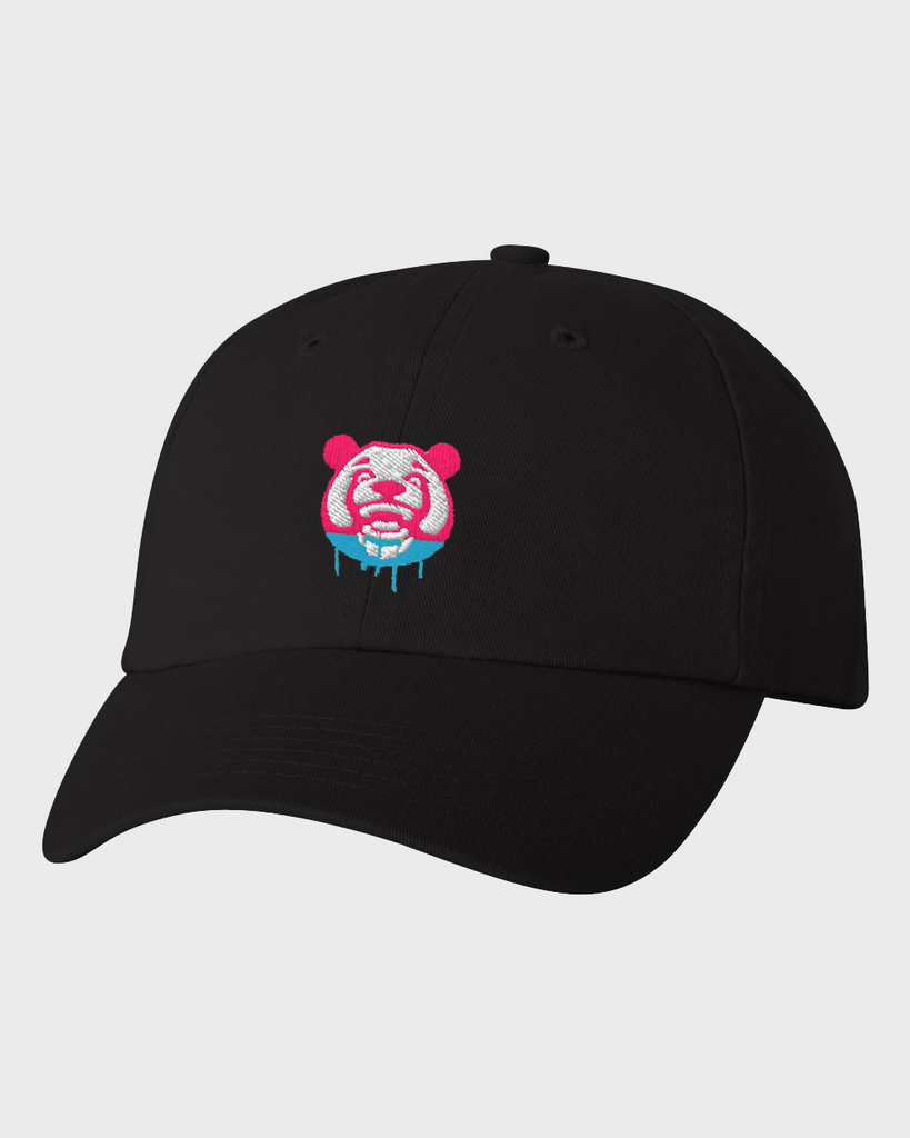 Watercolor Dad Hat (Black)