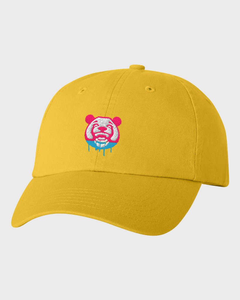 Watercolor Dad Hat (Yellow)