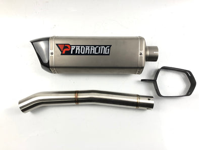 Yamaha YZF R6 13 14 15 16 ProRacing®Exhaust Link Pipe Silencer Titanium