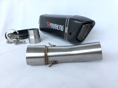 F800 slip on exhaust