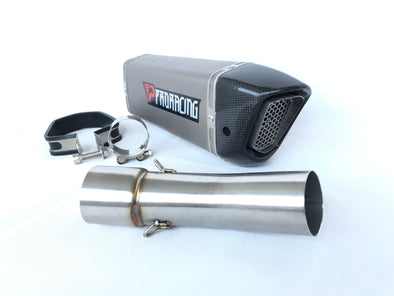F800 F800gs F800r exhaust slipon titanium