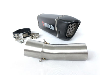 F800GS F800R F800 exhaust system