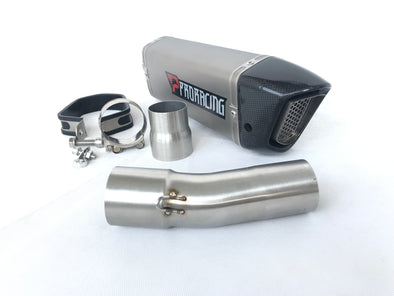 F800 F800GS F800R exhaust titanium proracing