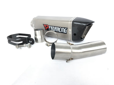 F800 F800GS F800R exhaust system ti slip on