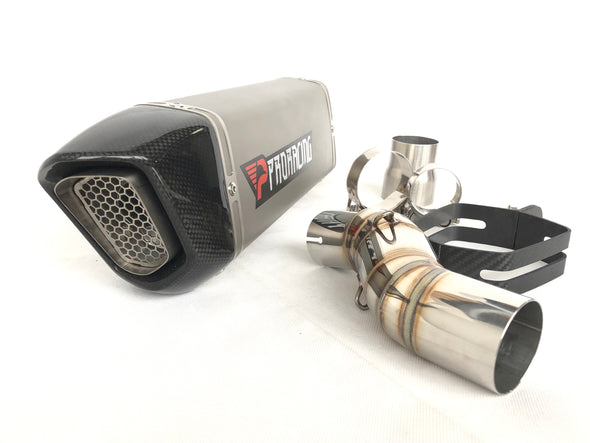 Honda CBR500R 13 14 15 ProRacing®Exhaust Link Pipe Silencer Titanium
