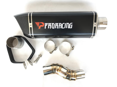 Honda CBR500R 2013 2014 2015 ProRacing®Exhaust Link Pipe and Silencer Stainless