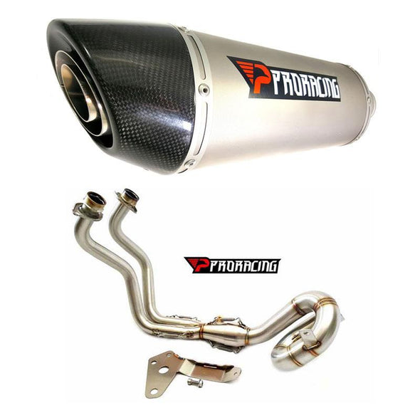 Yamaha FZ07 FZ-07 (14 15 16 17 18) Full System Power Turbo Titanium