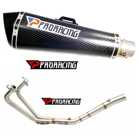 Yamaha YZF R3 (14-16) ProRacing®Exhaust Full System Carbon