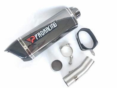 Suzuki GSX-R1000 11 12 13 ProRacing®Exhaust Link Pipe Silencer Stainless