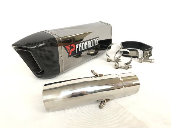 Suzuki GSX-R 600/750 (11-14) ProRacing®Exhaust Link Pipe and Silencer Stainless