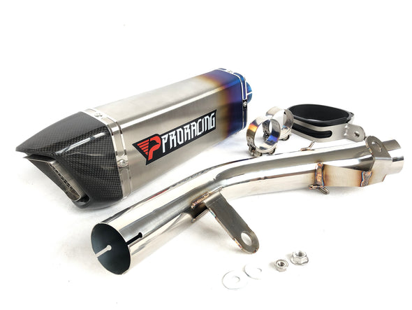 Suzuki GSX-R 600/750 (15-16) ProRacing®Exhaust Link Pipe and Silencer Stainless