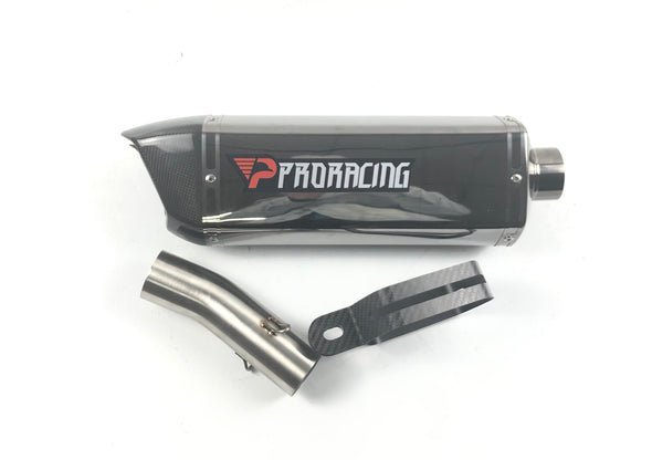 Suzuki Gsxr1000 09 10 12 ProRacing® Link Pipe Exhaust Stainless