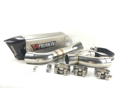 BMW S1000RR 12 13 14 ProRacing®Exhaust Decat and Silencer Stainless