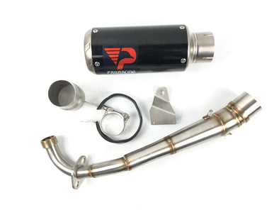 Honda MSX-125 (13-15) ProRacing® Link Pipe and Silencer Stainless