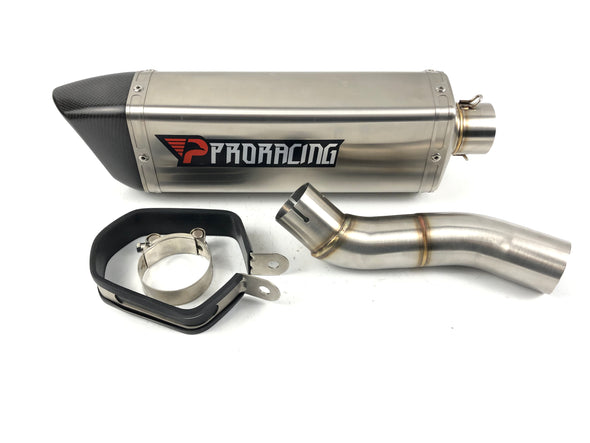 Yamaha YZF R6 12 13 14 15 ProRacing®Exhaust Link Pipe Silencer Stainless