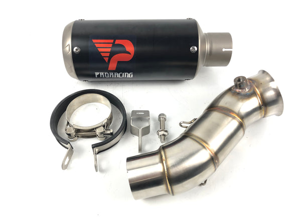 Yamaha YZF R1 10 11 12 ProRacing®Exhaust Link Pipe Silencer Titanium