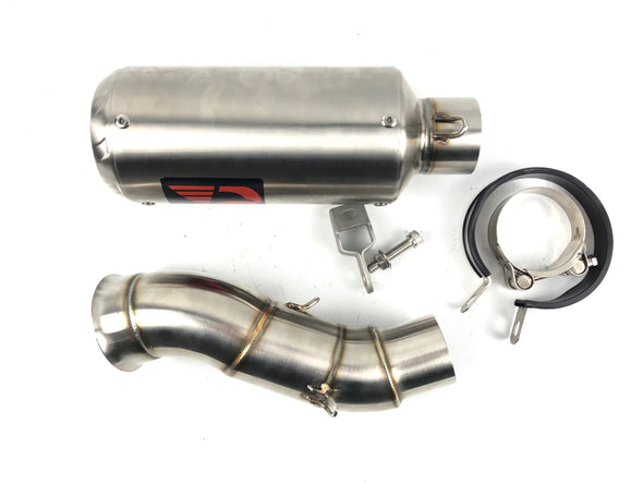 Yamaha YZF R1 12 13 14 ProRacing®Exhaust Link Pipe Silencer Stainless