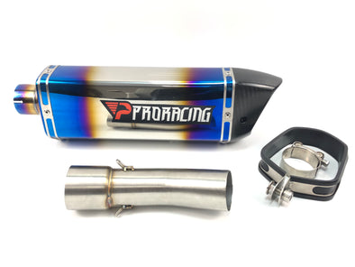 BMW F800R GS 11 12 13 16 ProRacing®Exhaust Link Pipe Silencer Stainless
