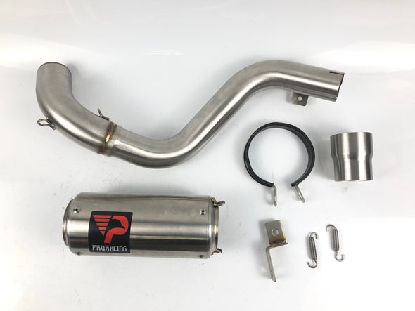 KTM Duke 390 200 12 13 14 ProRacing® Link Pipe Silencer Stainless