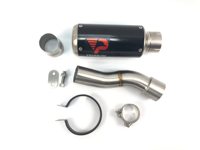 Ducati Monster 1200 (17-18) ProRacing® Link Pipe and Silencer Stainless