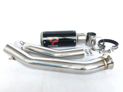 KTM Duke 690 (12-18) ProRacing®Exhaust Link Pipe and Silencer Stainless