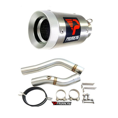 Honda F5 CBR600 08 12 11 ProRacing®Exhaust Link Pipe Silencer Stainless