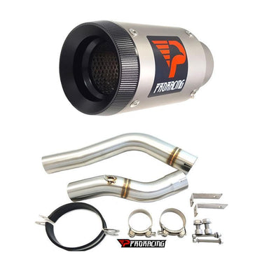 Honda F5 CBR600 10 11 12 ProRacing®Exhaust Link Pipe Silencer Titanium