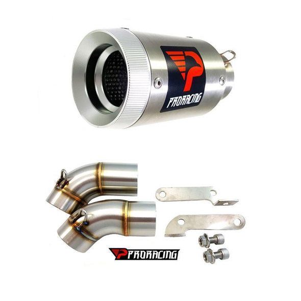 Ducati Monster 696 15 16 14 ProRacing®Exhaust Link Pipe Silencer Stainless