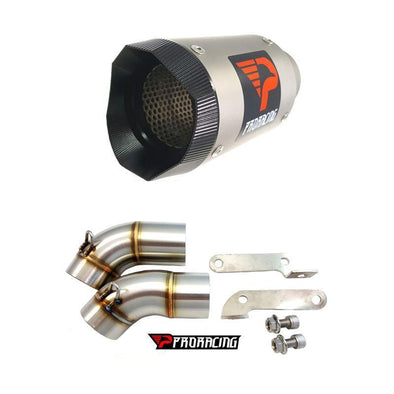 Ducati Monster 696 09 10 11 ProRacing®Exhaust Link Pipe Silencer Titanium