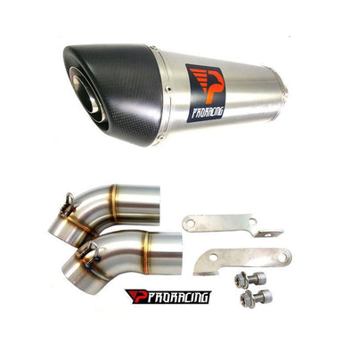 Ducati Monster 796 09 10 11 ProRacing®Exhaust Link Pipe Silencer Stainless