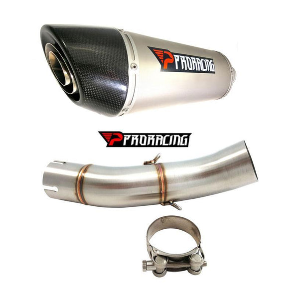 Triumph Speed Triple 11 12 13 ProRacing®Exhaust Link Pipe Silencer Titanium