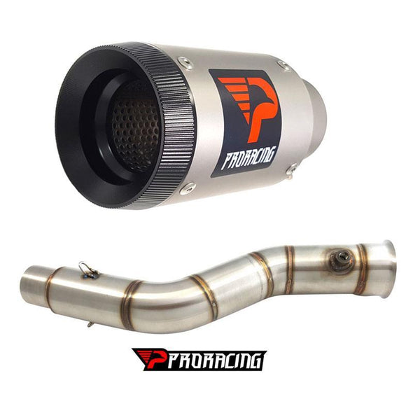 Yamaha YZF R1 Upside 51mm 12 13 14 11 Link Pipe Silencer Titanium