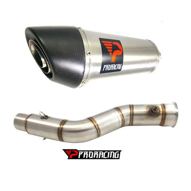 Yamaha YZF R1 Upside 60mm 11 12 13 14 Link Pipe Silencer Stainless