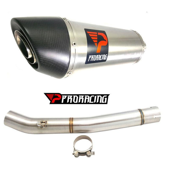 Yamaha YZF R6 10 11 12 13 ProRacing®Exhaust Link Pipe Silencer Stainless