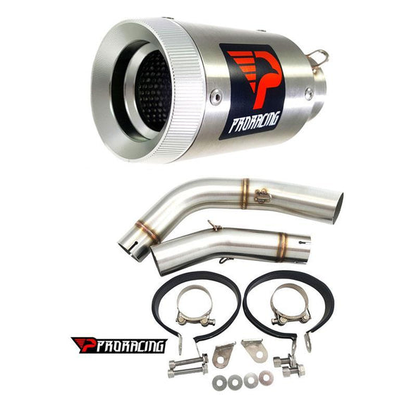 Yamaha YZF R1 Double under-seat 11 13 Link Pipe Set Silencer 2/2 Stainless