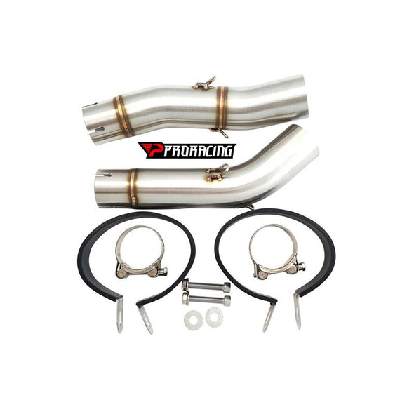 Yamaha YZF R1 Double under-seat (07-08) Link Pipe Set Stainless
