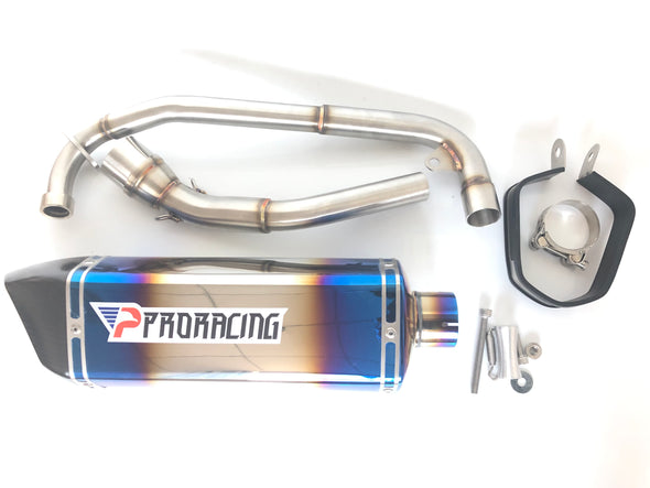 Honda MSX 125 Grom 13 14 15 ProRacing®Exhaust Link Pipe Silencer Stainless