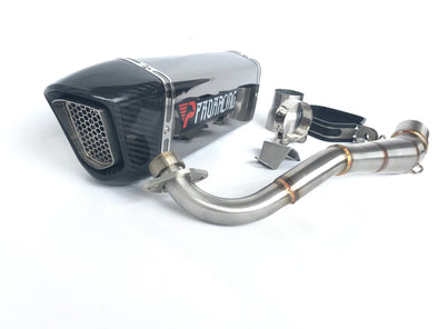 Honda MSX 125 13 14 15 ProRacing®Exhaust Link Pipe Silencer Stainless