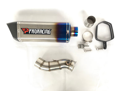 Yamaha YZF R1 (09-14) ProRacing®Exhaust Link Pipe and Stainless