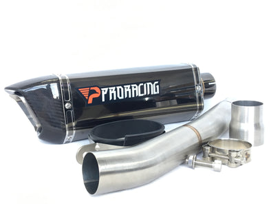 Yamaha YZF R6 13 14 15 16 ProRacing®Exhaust Link Pipe Silencer Stainless